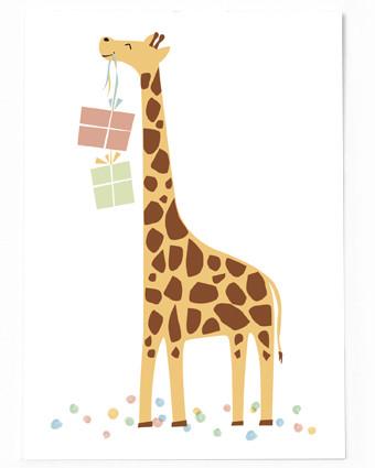 Geschenke Giraffe