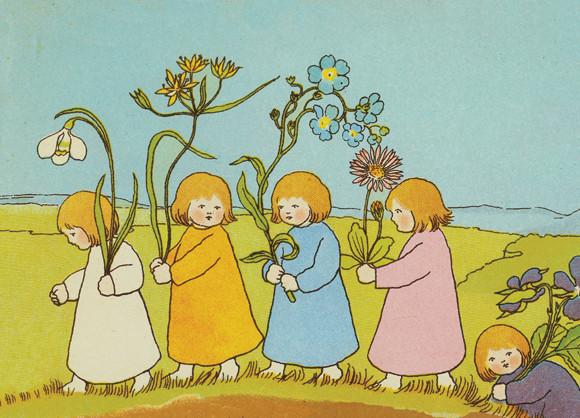 Wurzelkinder Frühlingskinder