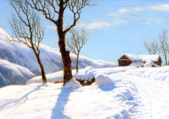 Choultsé, Iwan Fedorowitsch Morgensonne im Winter