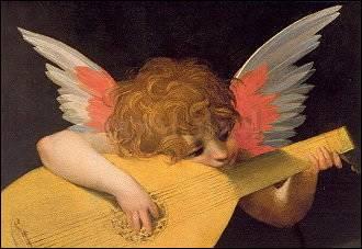 Rosso Fiorentino, Laute spielender Engel