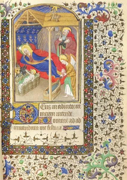 Buchmalerei, Stundenbuch Frankreich 15. Jh