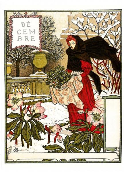 Eugène Grasset, Dezember