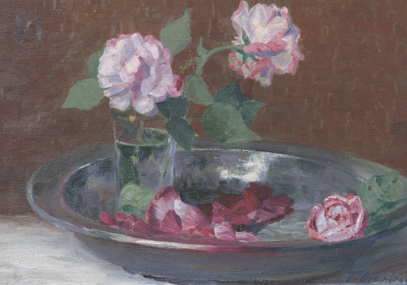 Fritz Overbeck, Rosa Rosen