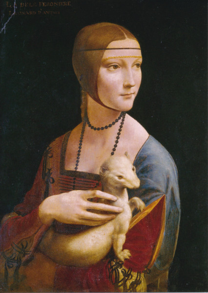 Leonardo da Vinci, Dame mit dem Hermelin