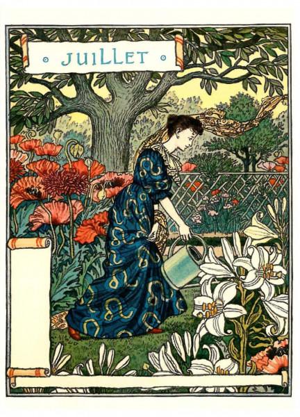 Eugène Grasset, Juli
