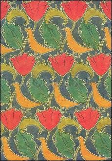 Charles Voysey, Vögel und Blumen