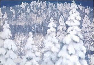 Higashiyama Kaii, Winterwald
