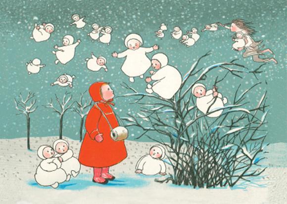Wurzelkinder Schneeflocken