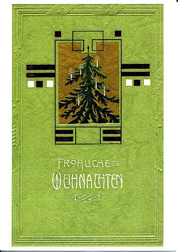 Weihnachtskarte, 19. Jhd.